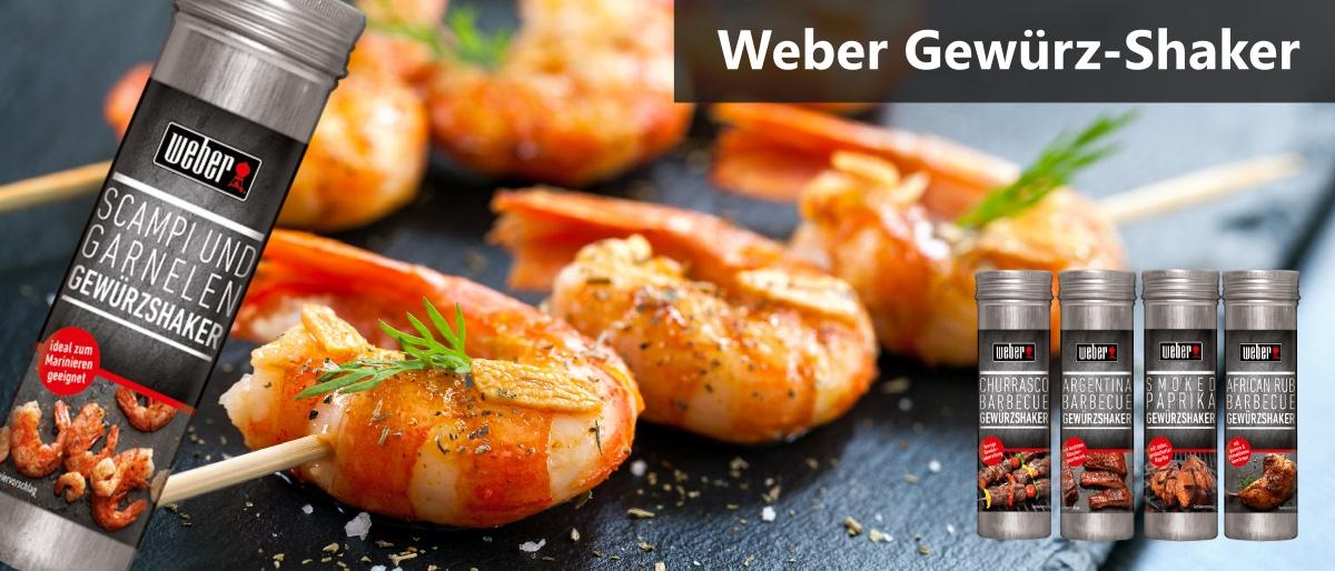Permalink auf:WEBER BBQ Gewürzshaker + Grill-Salze